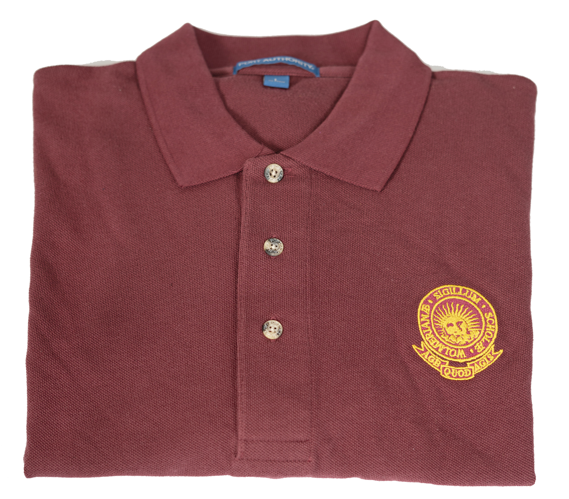 Wolmer's Polo Shirt - Maroon