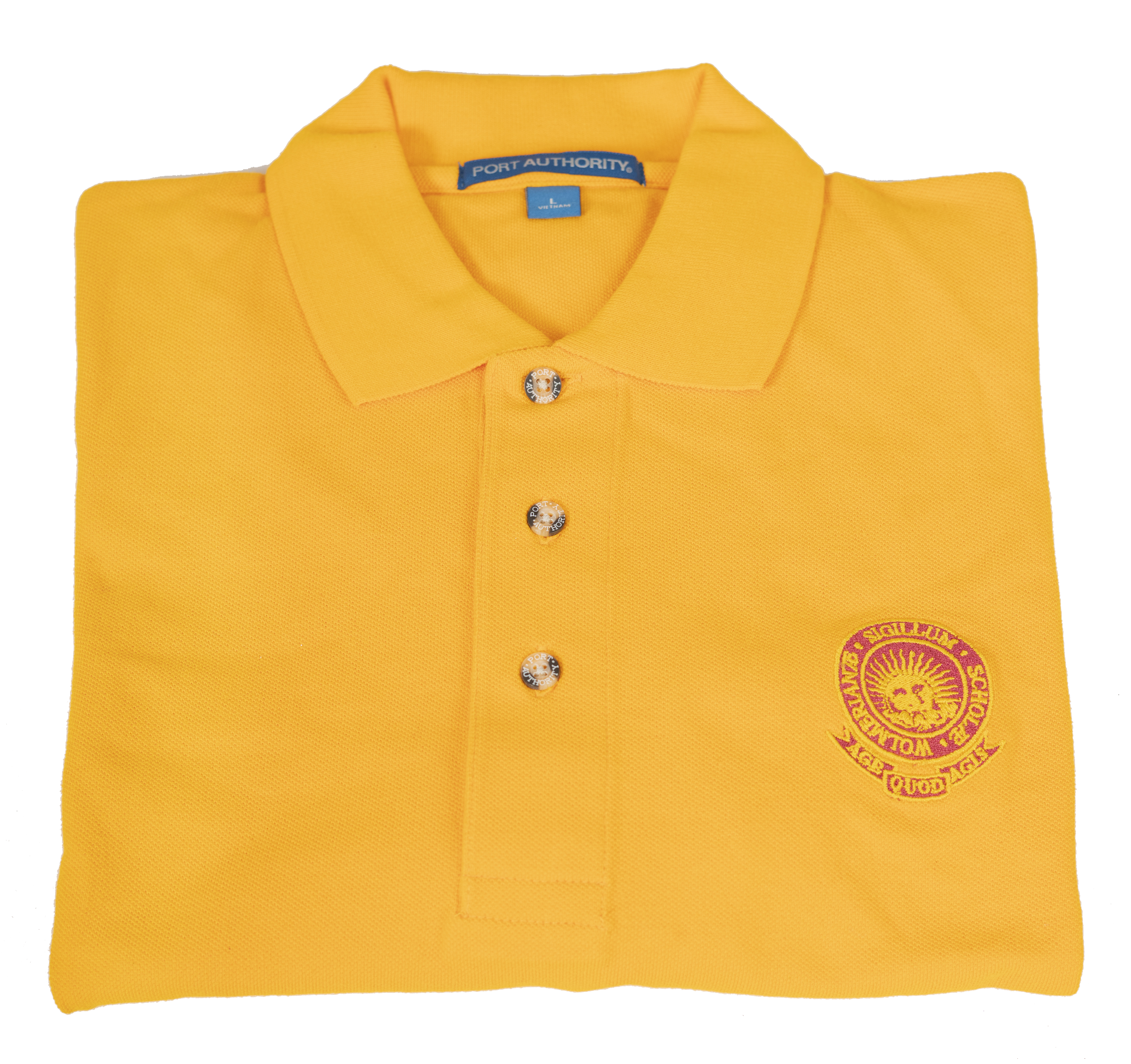 Wolmer's T - Collar Gold